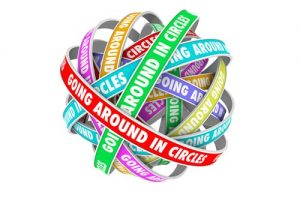 If You Find Yourself Going In Circles