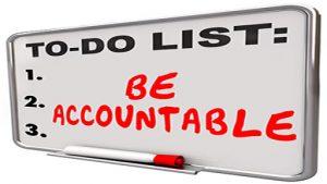 Self-accountability