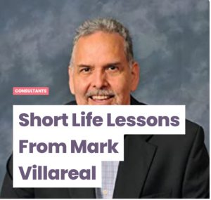 World Class Performer interviews Mark Villareal on Life's Lessons